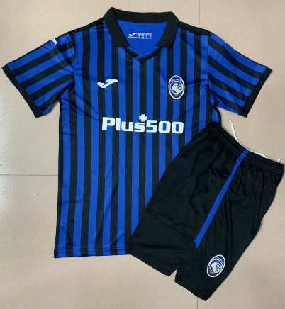 Atalanta 20/21 Kids Home Soccer Jersey and Short Kit