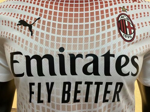 Player Version AC Milan 20/21 Away Authentic Jersey