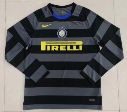 Thai Version Inter Milan 20/21 LS Third Soccer Jersey