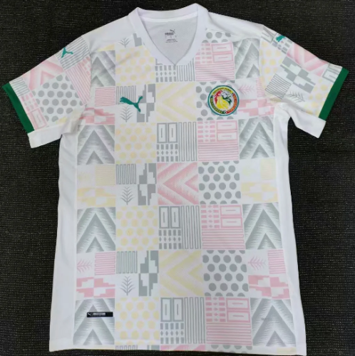 Thai Version Senegal 2020 Home Soccer Jersey