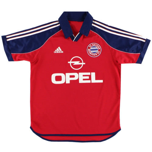 Bayern Munich 1999-01 Home Retro Jersey