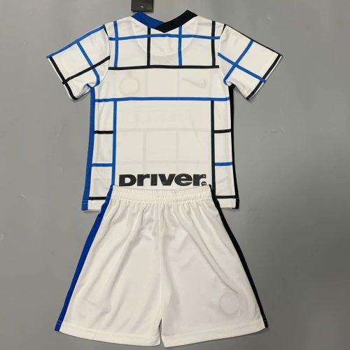 Inter Milan 20/21 Kids Away Soccer Jersey and Short Kit