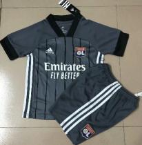 Olympique Lyonnais 20/21 Kids Away Soccer Jersey and Short Kit