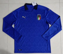 Thai Version Italy 20/21 LS Home Soccer Jersey