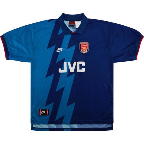 ARS 1995-1996 Away Retro Jersey #10 Bergkamp