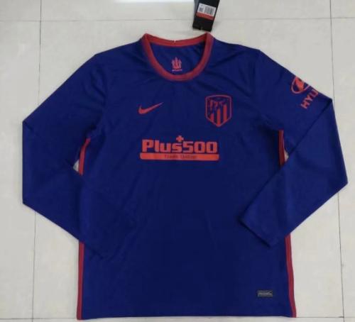 Thai Version Atletico Madrid 20/21 Away LS Soccer Jersey
