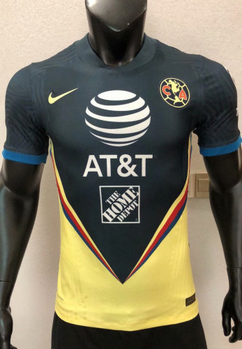 Player Version Club America 2020 Home Authentic Jersey
