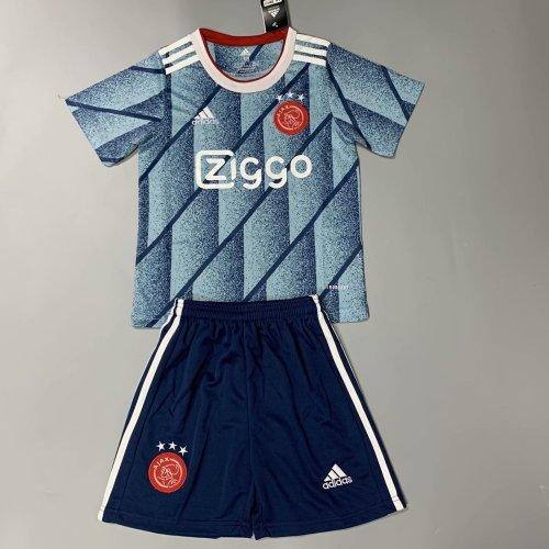 Ajax 20/21 Kids Away Soccer Jersey and Short Kit
