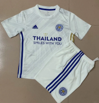 Leicester City 20/21 Kids Away Soccer Jersey and Short Kit