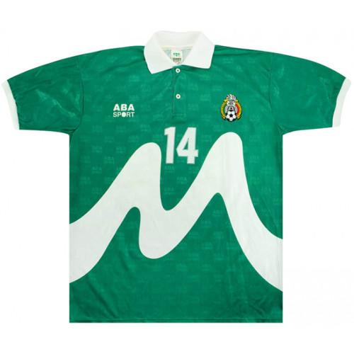 Mexico 1995 King Fahd Cup Home Retro Jersey 14 Del Olmo
