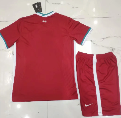Liverpool 20/21 Home Soccer Jersey and Short Kit