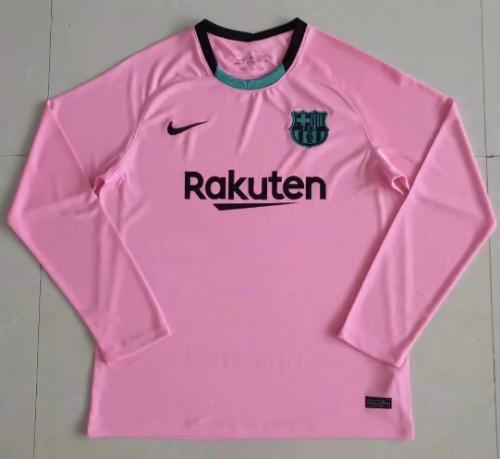 Thai Version Barcelona 20/21 LS Third Soccer Jersey