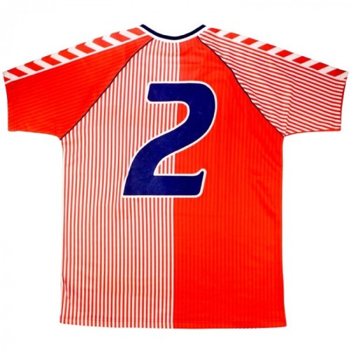 Denmark 1986 Home Retro #2 Player Jersey