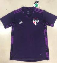 Thai Version Sao Paulo 2020 Goalkeeper Soccer Jersey