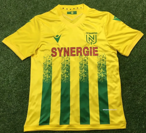 Thai Version FC Nantes 20/21 Home Soccer Jersey
