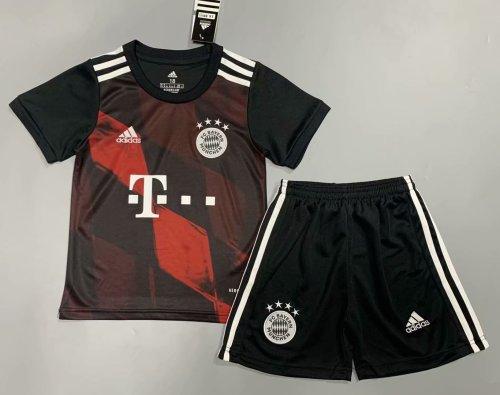 Bayern Munich 20/21 Kids Third Soccer Jersey and Short Kit