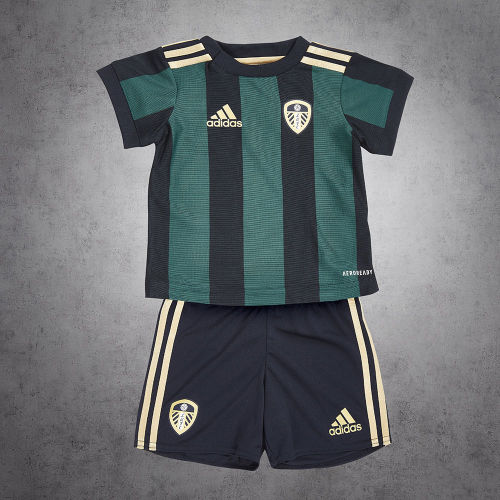 Leeds United 20/21 Kids Away Jersey Kit
