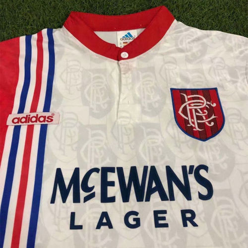 Rangers 1996/97 Away Retro Jersey