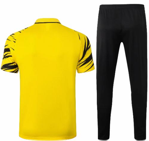 Borussia Dortmund 20/21 Polo and Pants -C575