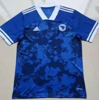 Thai Version Bosnia and Herzegovina 20/21 Home Soccer Jersey