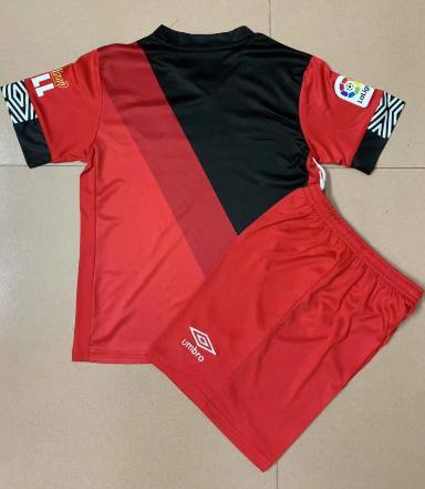 Rayo Vallecano 20/21 Kids Third Soccer Jersey and Short Kit