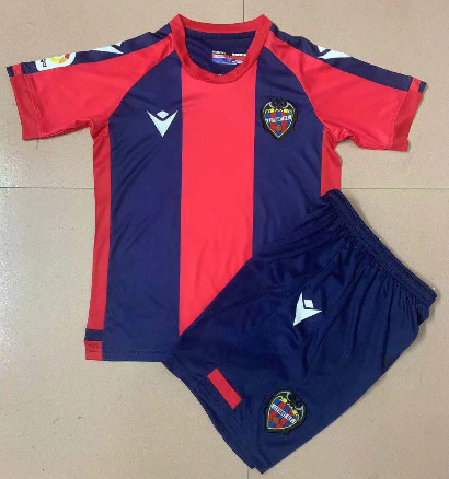 Levante UD 20/21 Kids Home Soccer Jersey and Short Kit