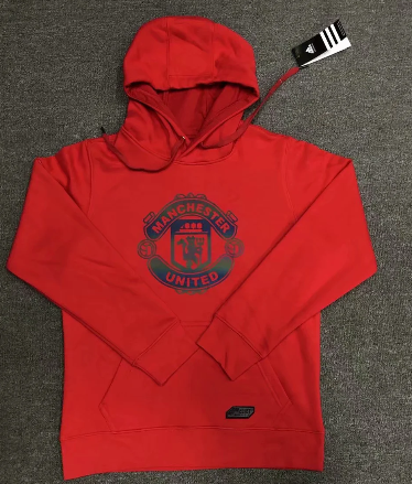 Manchester United 20/21 Hoodie With Wool -Red