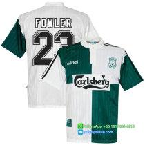 Liverpool 1995-96 Fowler Away Retro Jersey