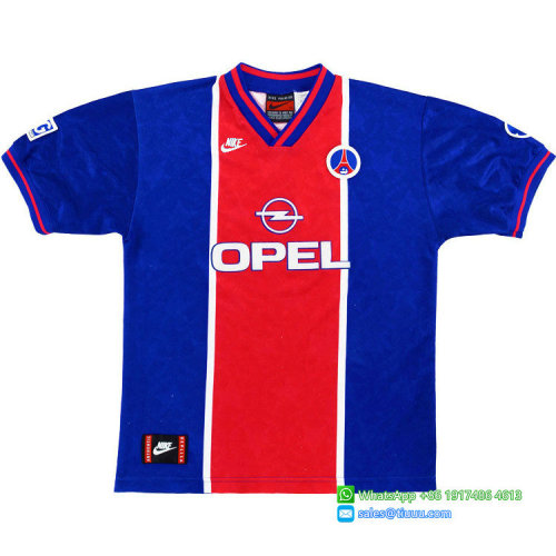 Paris Saint-Germain 1995-96 Home Retro Jersey