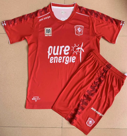 Twente 20/21 Kids Home Soccer Jersey and Short Kit