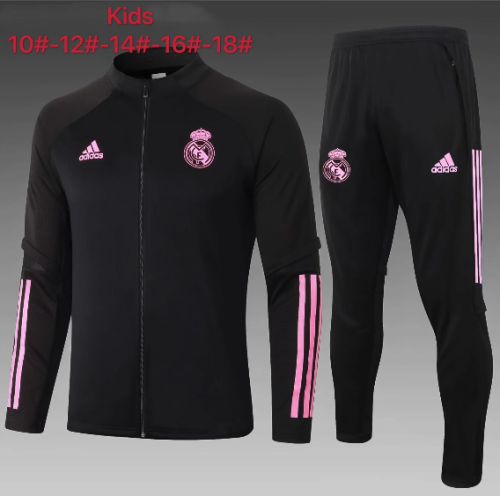 Real Madrid 20/21 Kids Jacket and Pants - #E510