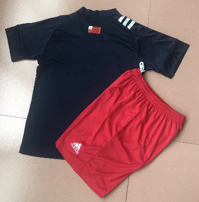 New England Revolution 20/21 Kids Soccer Jersey and Short Kit