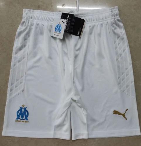 Thai Version Olympique Marseille 20/21 Home Soccer Shorts