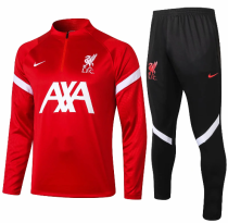 Liverpool 20/21 Soccer Training Top and Pants -B434