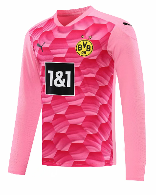 Thai Version Borussia Dortmund 20/21 Goalkeeper LS Soccer Jersey