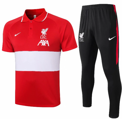 Liverpool 20/21 Polo and Pants - C599