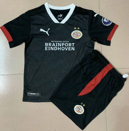 Eindhoven 20/21 Kids Third Soccer Jersey and Short Kit