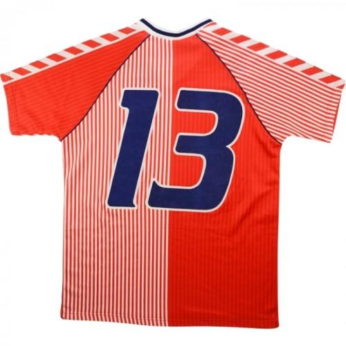 Denmark 1986 Home Retro #13 Player Jersey