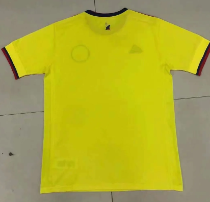 Thai Version Colombia 20/21 Home Soccer Jersey