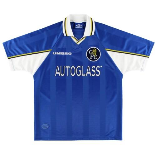 Chelsea 1997/1999 Home Retro Jersey 9 Vialli