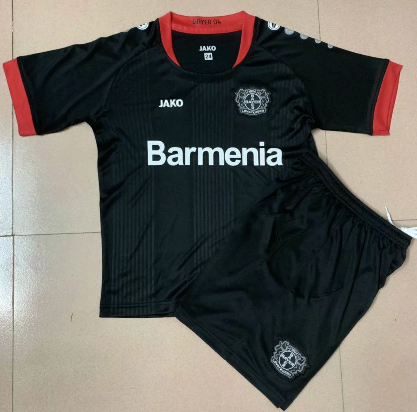Bayer 04 Leverkusen 20/21 Home Soccer Jersey and Short Kit
