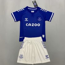Everton 20/21 Kids Home Soccer Jersey and Short Kit