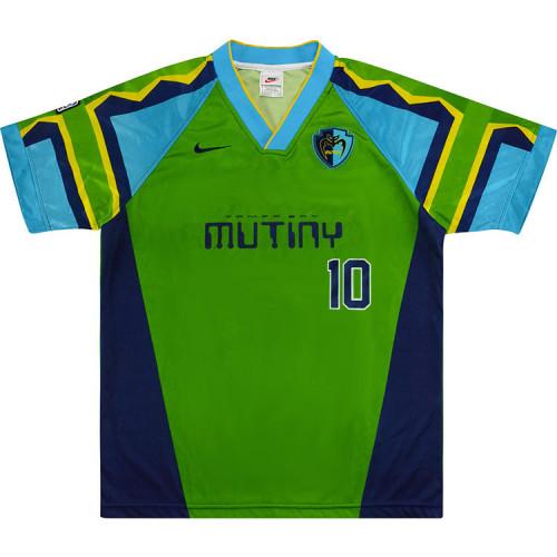 Tampa Bay Mutiny 1996-1997 Home Retro Jersey #10 Valderrana
