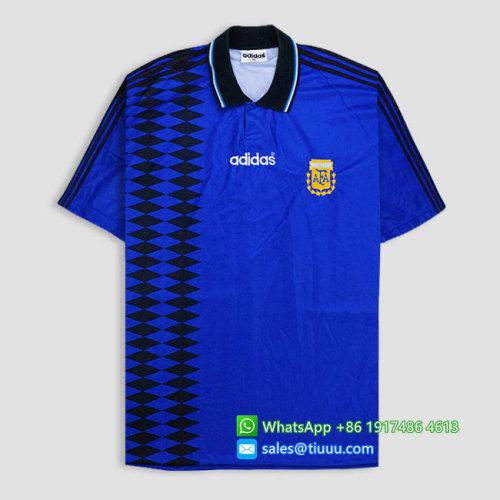 Argentina 1994-95 Home Retro Soccer Jersey