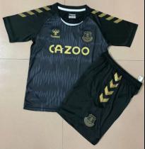 Everton 20/21 Kids Goalkeeper Soccer Jersey and Short Kit