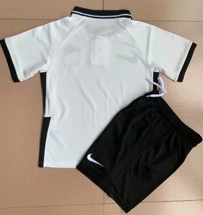 Corinthians 2020 Kids Home Soccer Jersey and Short Kit