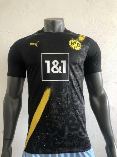 Player Version Borussia Dortmund 20/21 Away Authentic Jersey