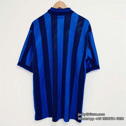 Atalanta 1996-97 Home Retro Soccer Jersey
