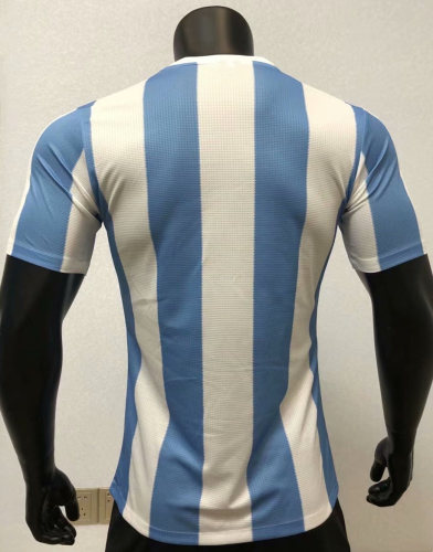 Player Version Argentina 1986 Home Retro Authentic Jersey
