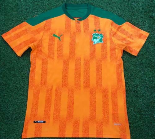 Thai Version Côte d'Ivoire 2020 Home Soccer Jersey
